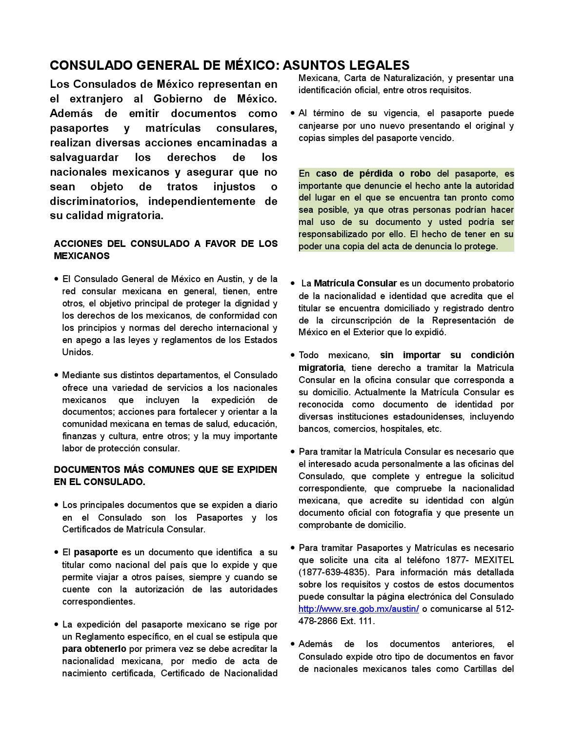 Handout protección by Blanca gavino - issuu