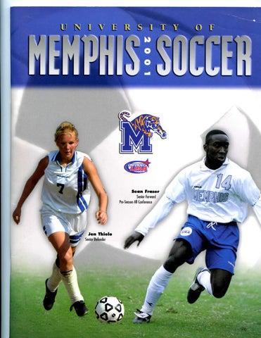 2001 Memphis Soccer Media Guide