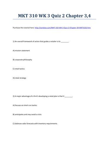 Chap 3 quiz 2