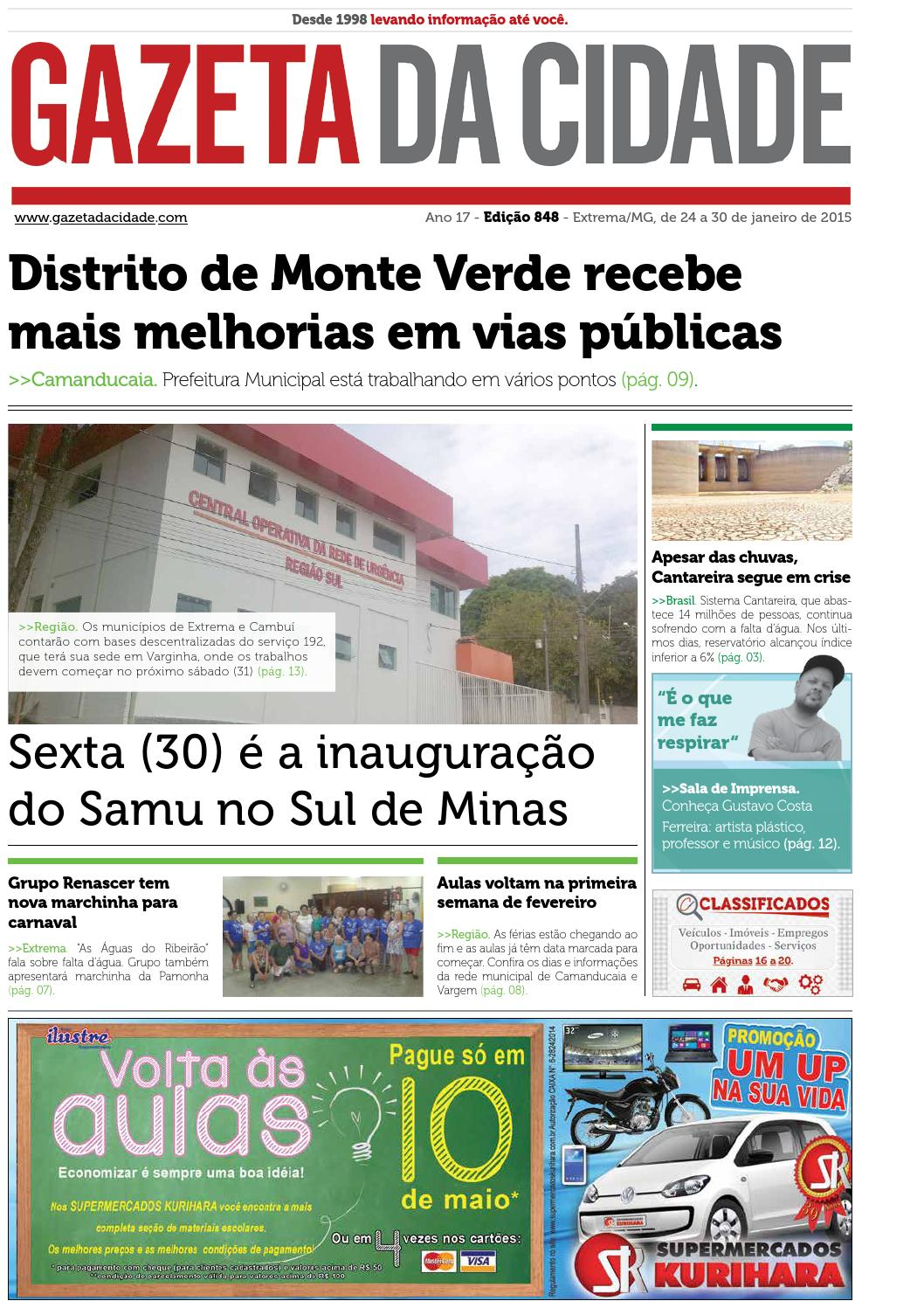 5eaa338aa Ed 848 by Gazeta da Cidade - issuu