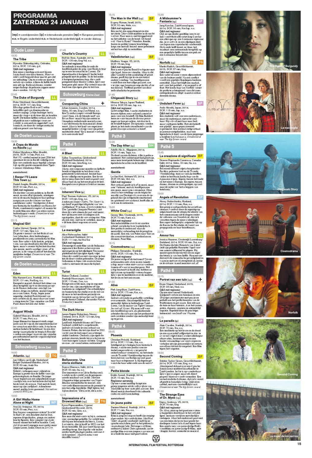 Daily Tiger 3 By International Film Festival Rotterdam Issuu
