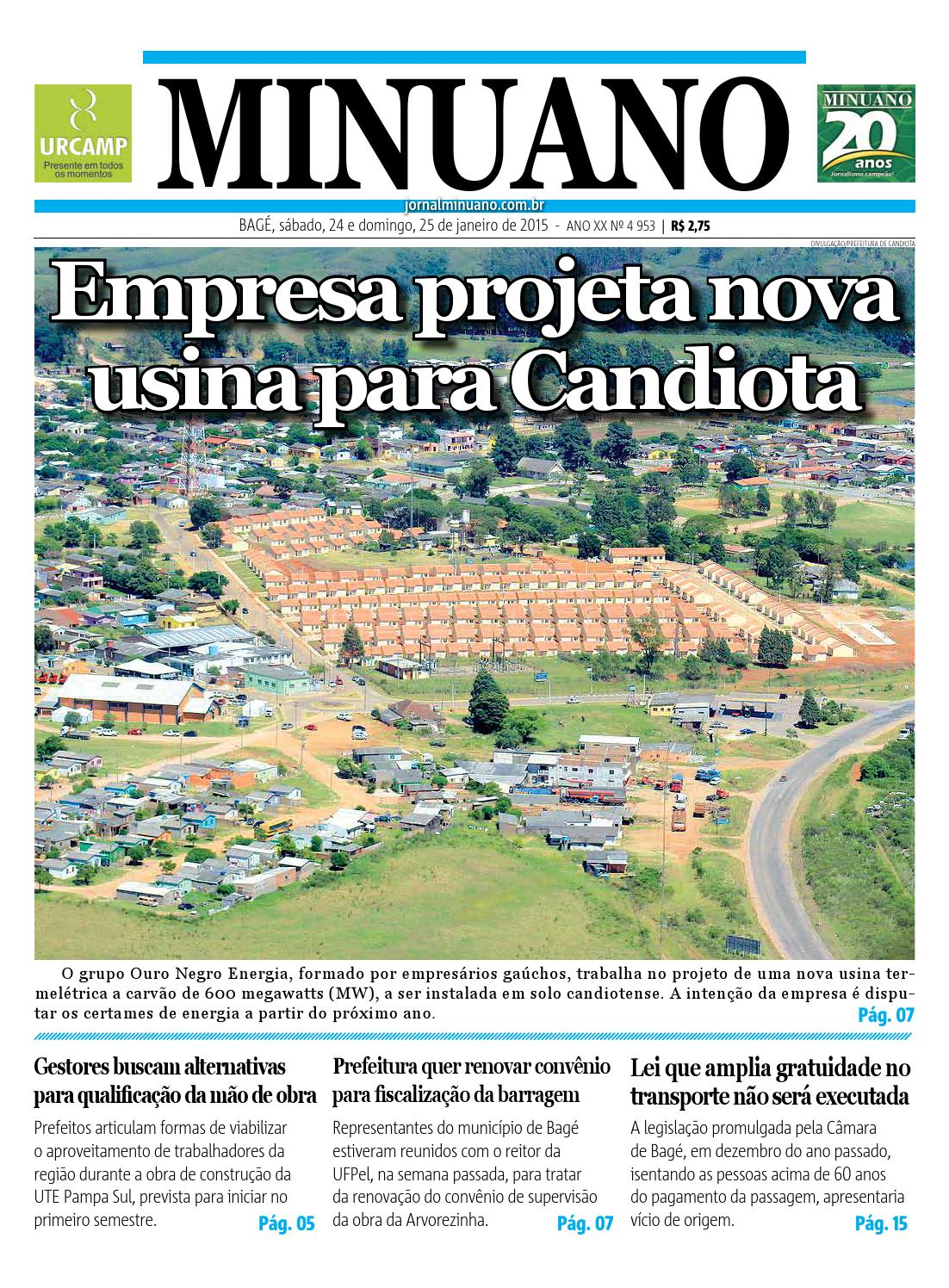 20150124 by Jornal Minuano - issuu cd83ffab4c96e