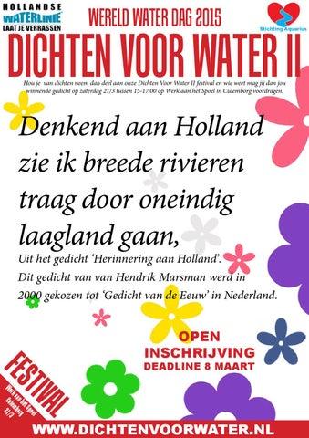 Dichten Voor Water 3e Ontwerp By Stichting Aquarius Issuu
