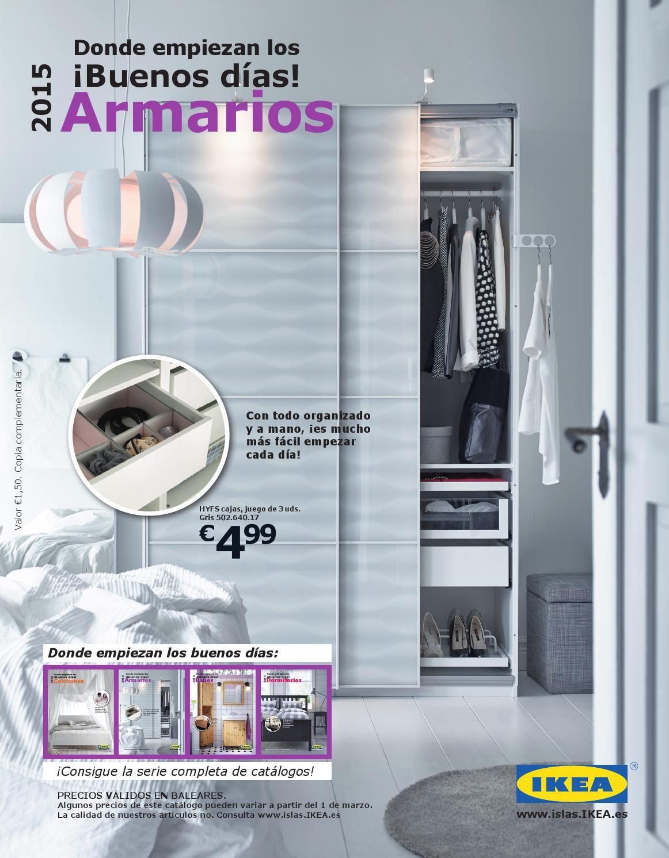 Catalogo ikea armarios 2015 baleares by losdescuentos issuu for Armarios buenos