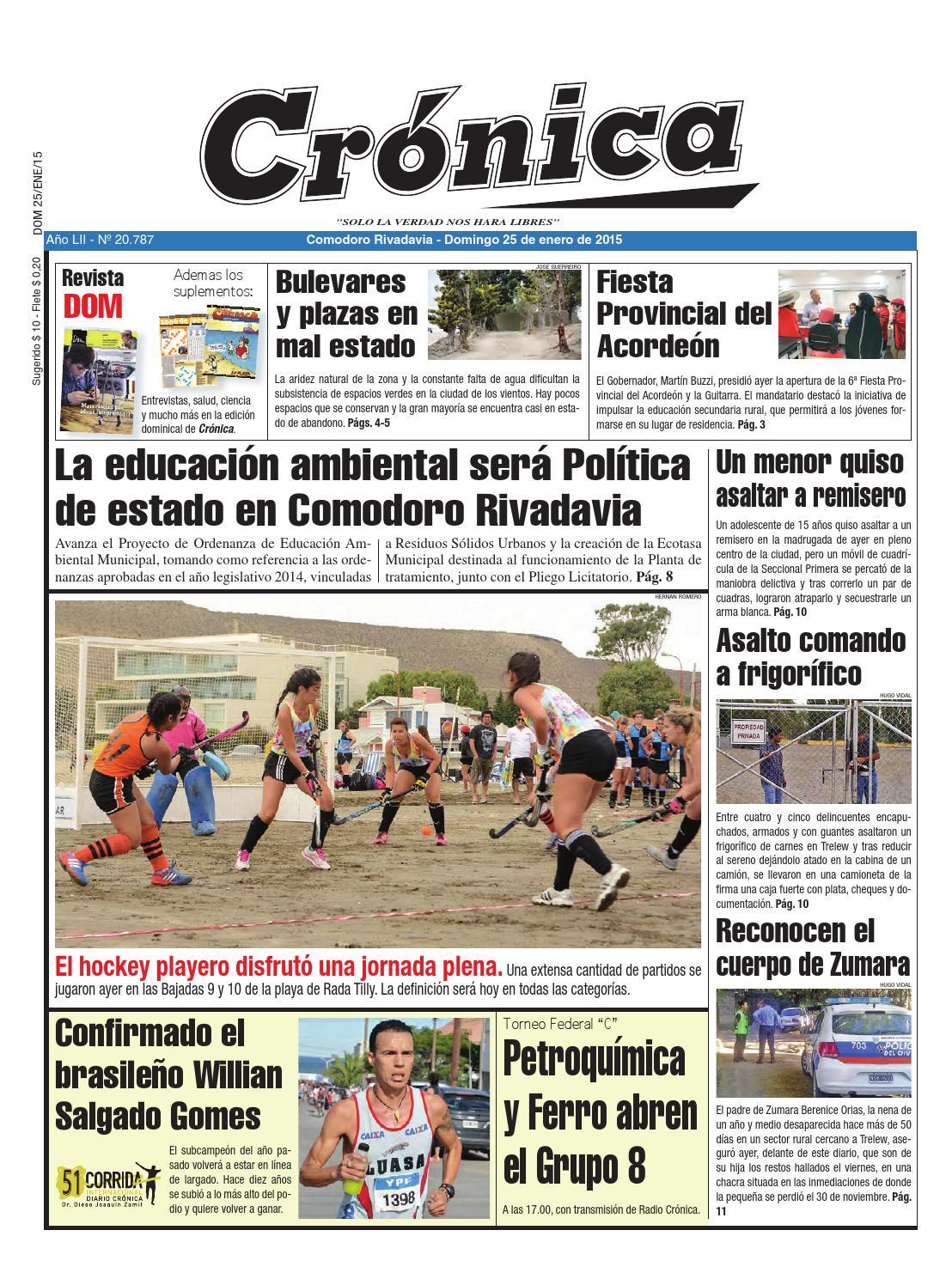 11102f1f8ed6a0562d11af57fa5bb576 by Diario Crónica - issuu