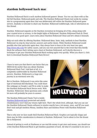 stardom hollywood cheats