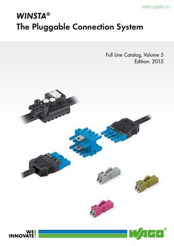 NEU Wago MCS 6-Polig 2.5 Stecker