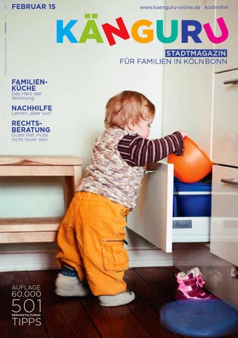 KÄNGURU Stadtmagazin Für Familien In KölnBonn Februar 2015 By ...