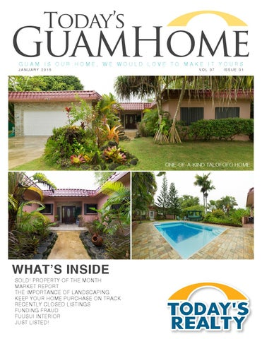 Today S Guamhome January 2015 By Todays Realty Issuu