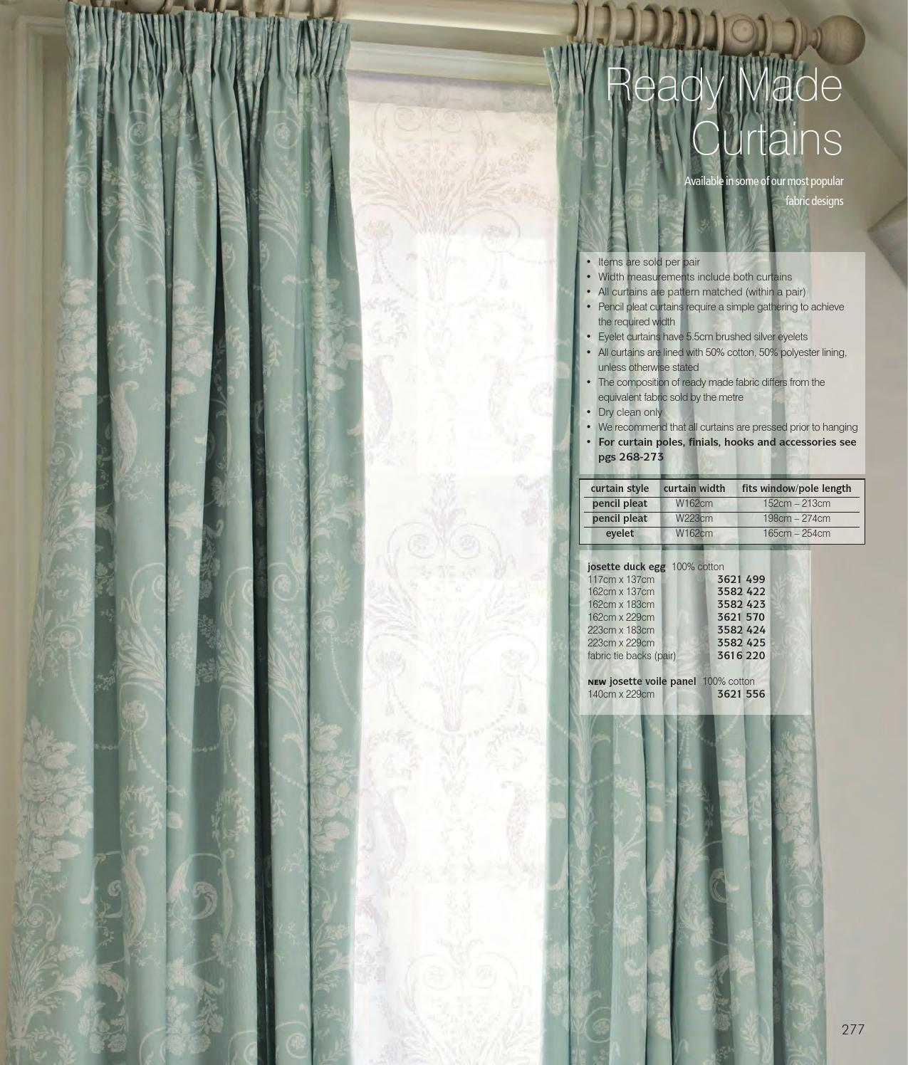 Curtains & Blinds Laura Ashely Curtains And Tie Backs Josette Duck Egg Eyelet Brand New