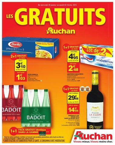 Auchan catalogue 28janvier 3fevrier2014 by PromoCatalogues.com - issuu 98323220e7e