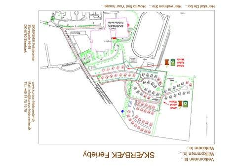 Kort Over Skaerbaek Feriecenter By Skaerbaek Fritidscenter Issuu