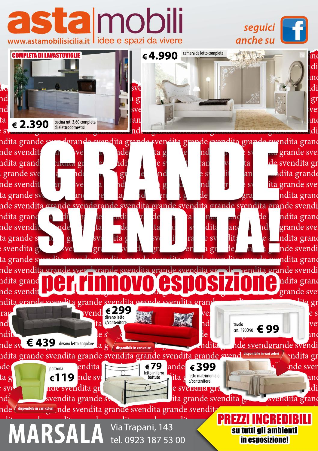 Asta Mobili Taranto : Grande svendita asta mobili sicilia marsala by