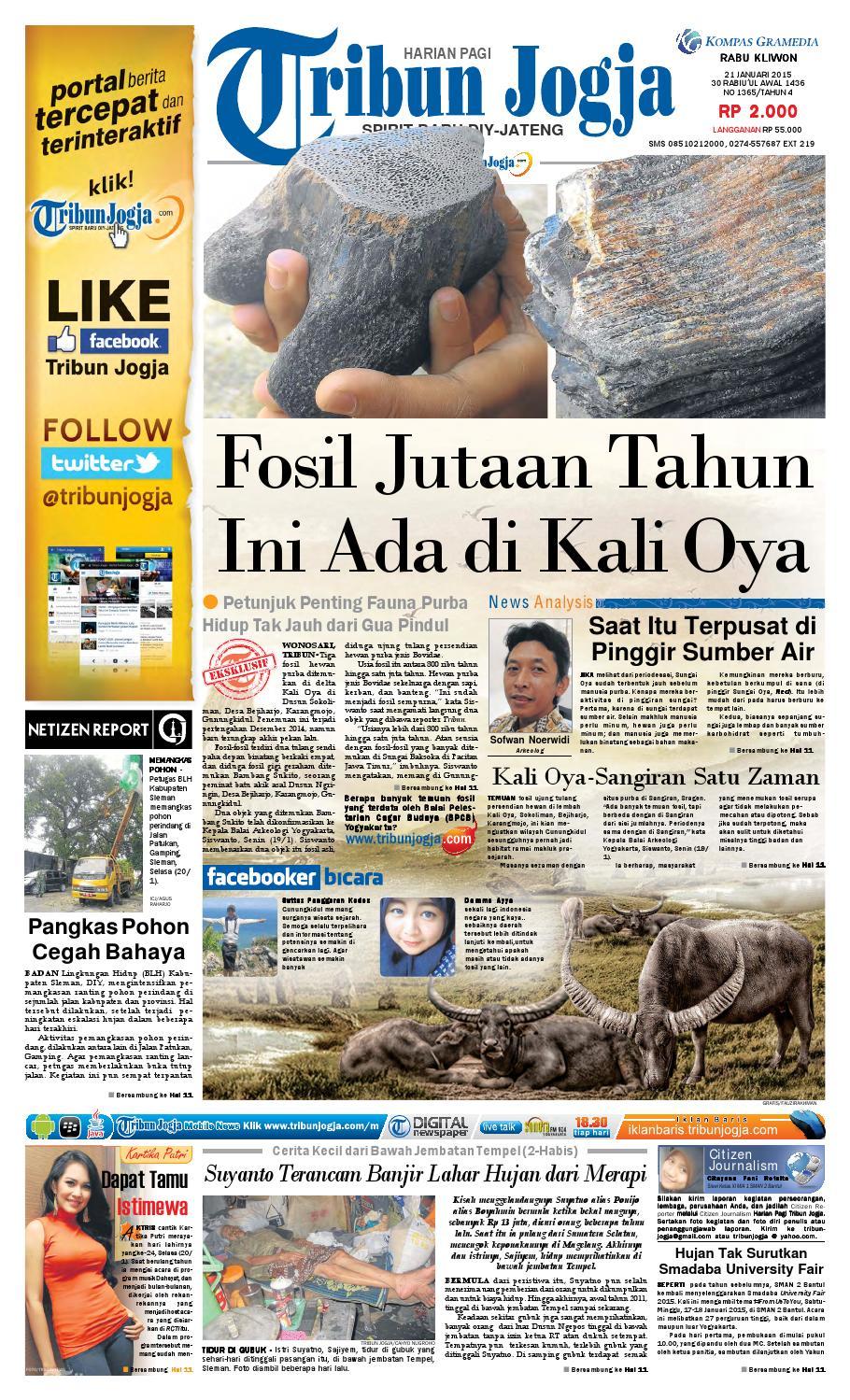 Tribunjogja 21 01 2015 By Tribun Jogja Issuu Fcenter Meja Rias Siantano Mr 905 Jawa Tengahdiyjawa Timur