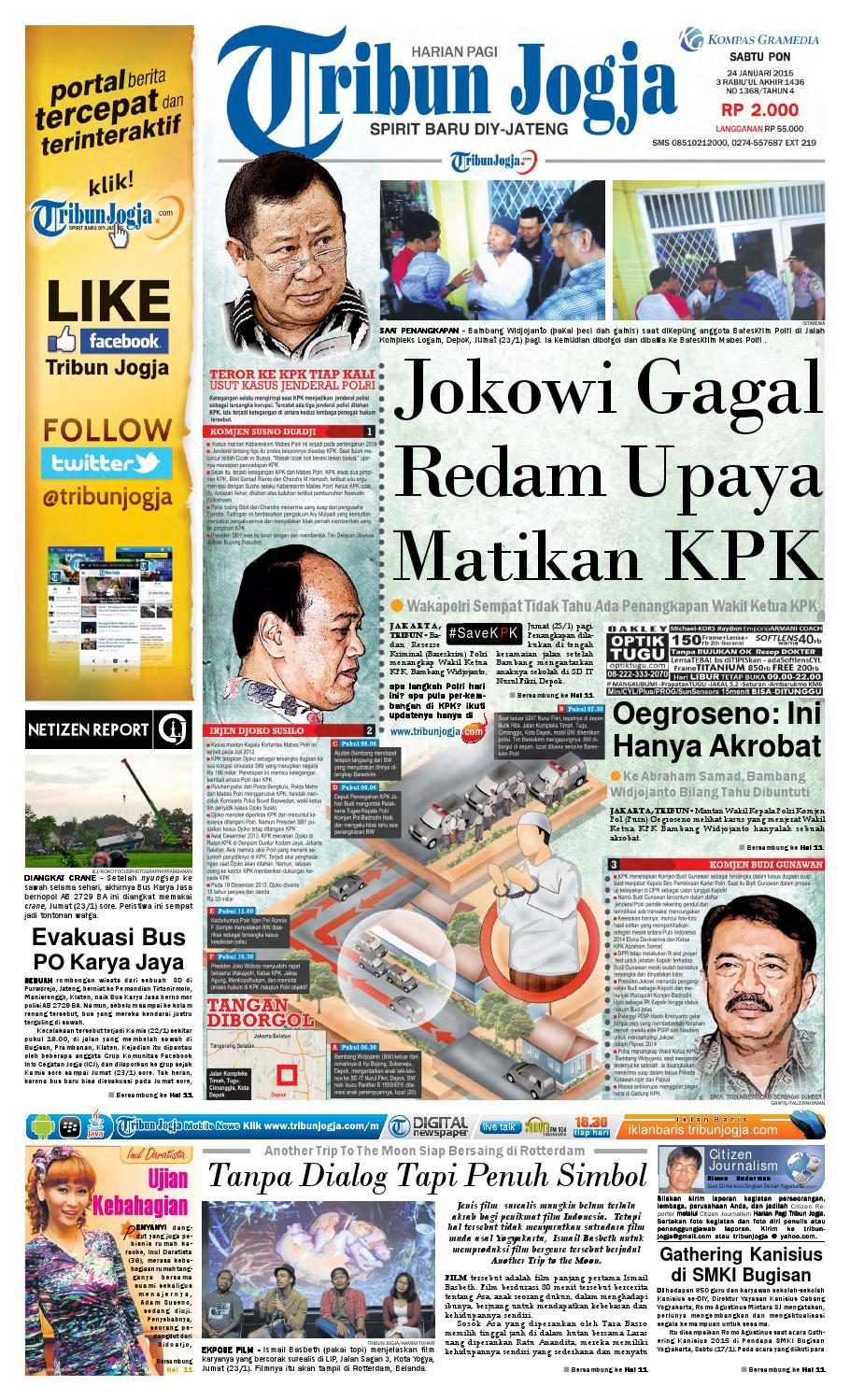 Tribunjogja 24 01 2015 By Tribun Jogja Issuu Produk Ukm Bumn Pusaka Coffee 15 Pcs Kopi Herbal Nusantara Free Ongkir Depok Ampamp Jakarta