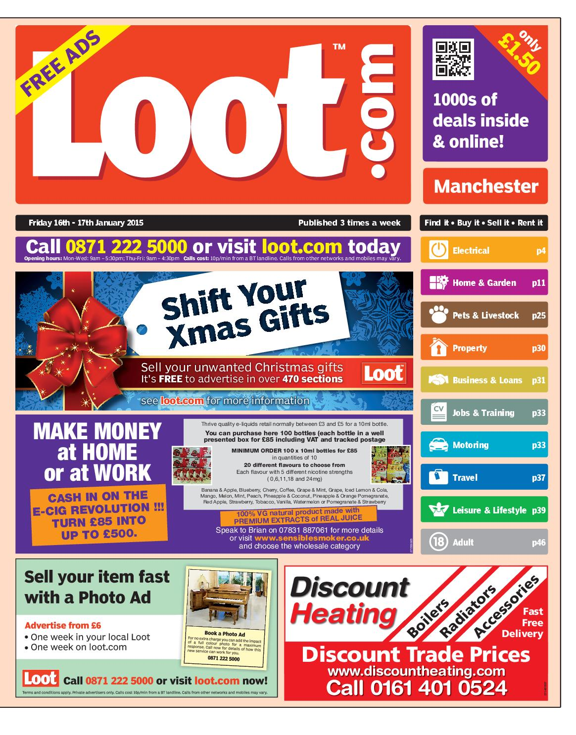 a10655e216c Loot Manchester, January 16th 2015 by Loot - issuu