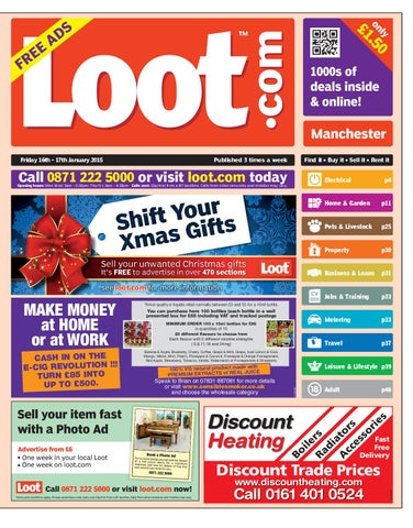 9e4a1521fa2f2 Loot Manchester, January 16th 2015 by Loot - issuu
