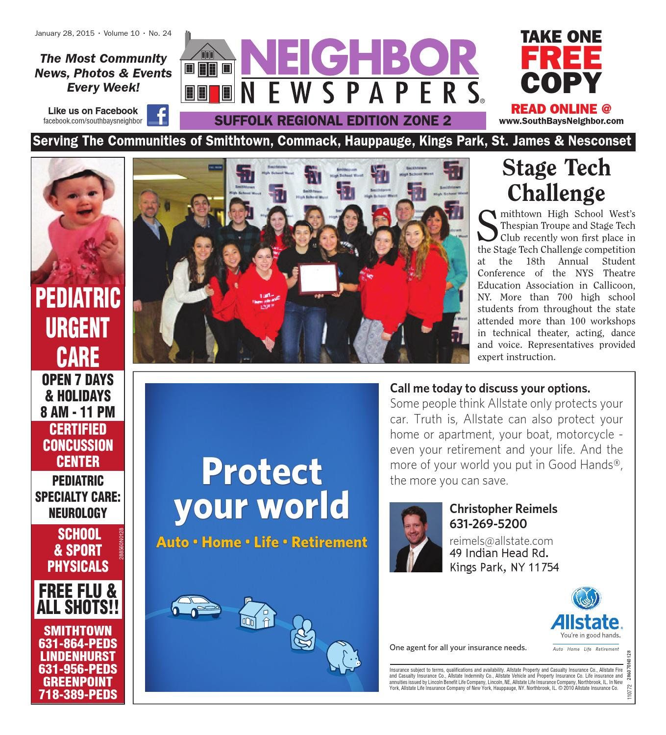 January 28 2015 Suffolk Zone 2 By South Bay S Neighbor Newspapers