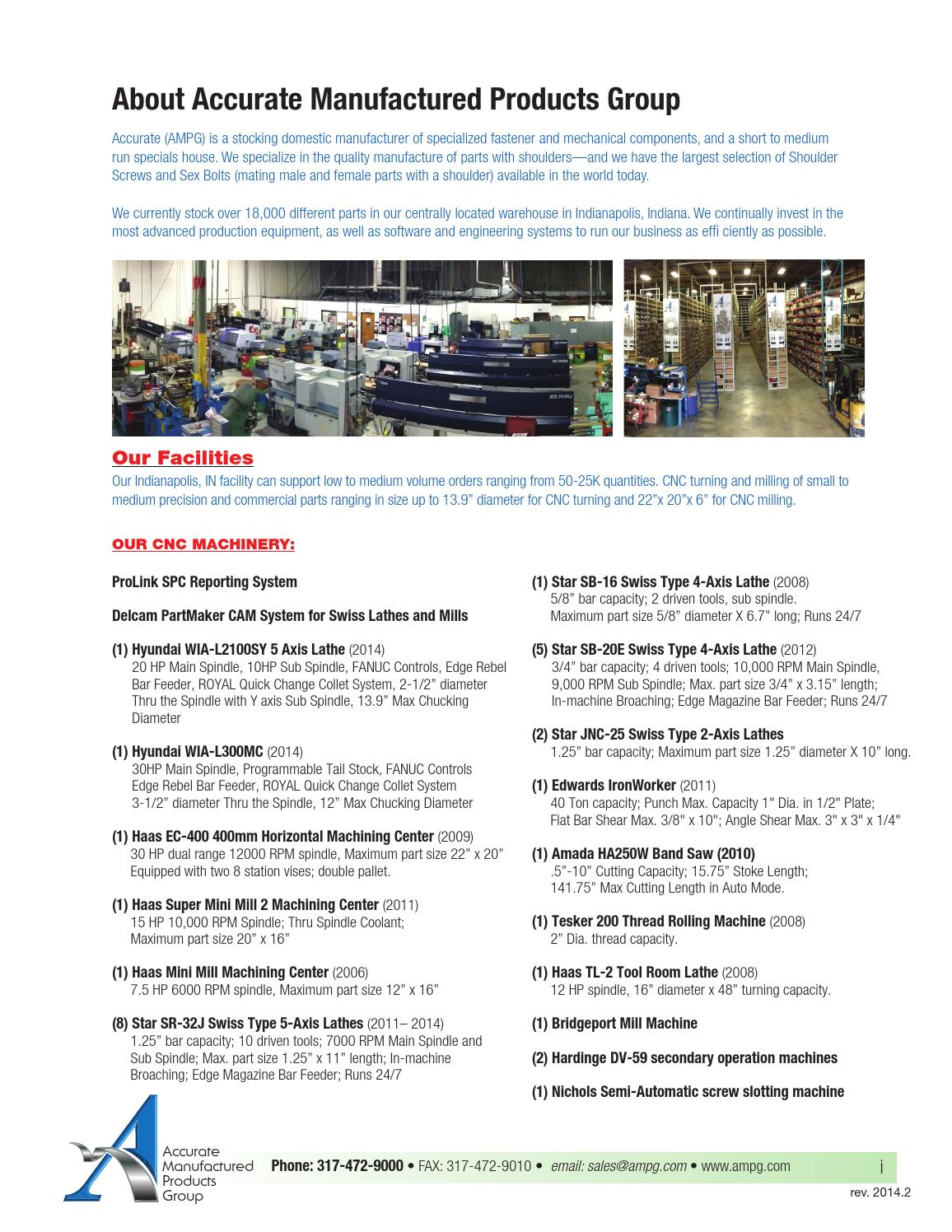 Super Corrosion Resistant Shoulder Screw 316 Stainless Steel Thread Size M10-1.5