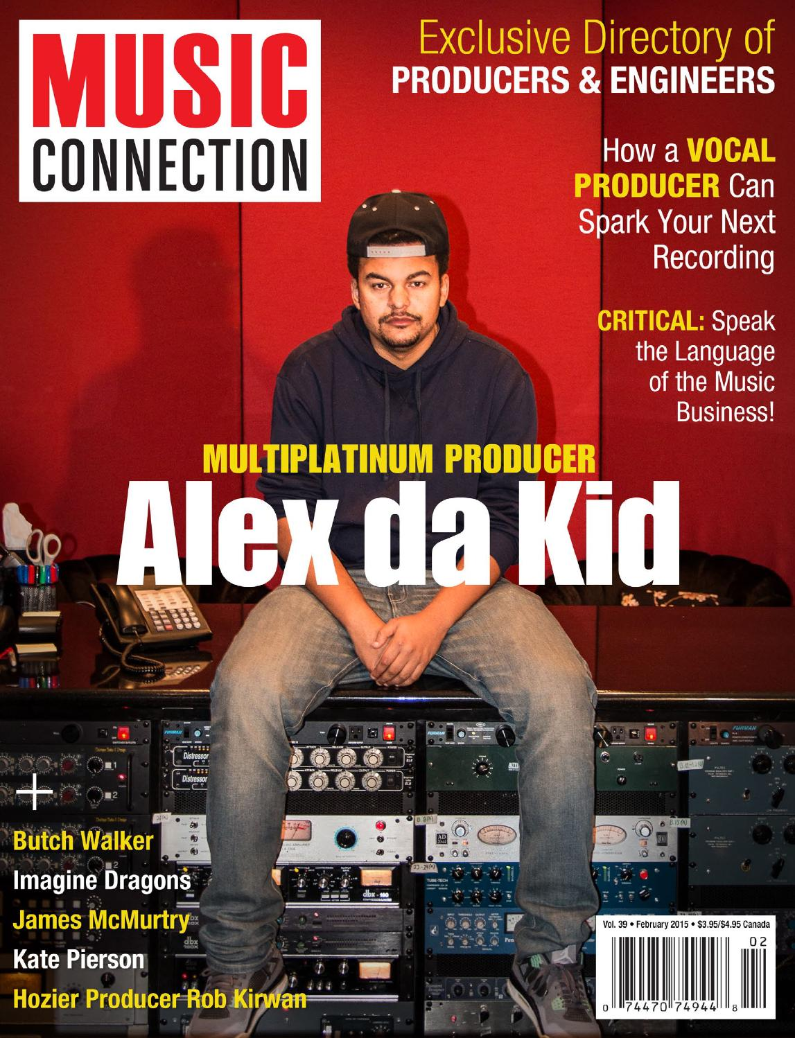 Music Connection Feb  2015 by Music Connection - issuu