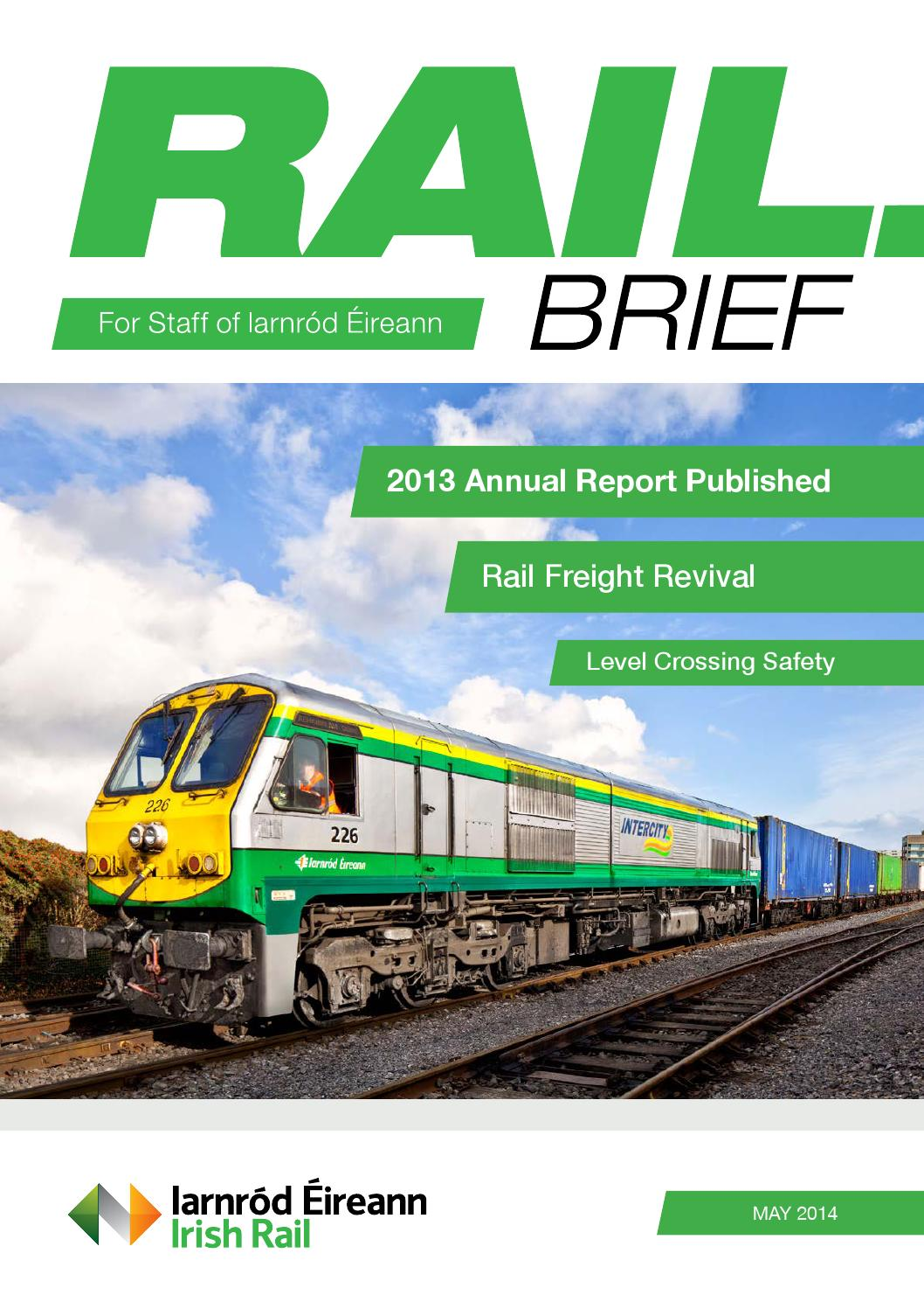 Rail Brief May 2014 by Emagine ie - issuu