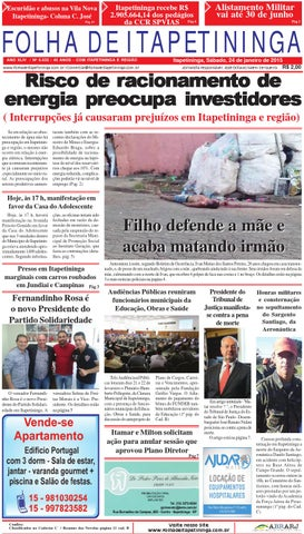 b96b99b172a Folha de Itapetininga 24 01 2015 by Jornal Folha de Itapetininga - issuu