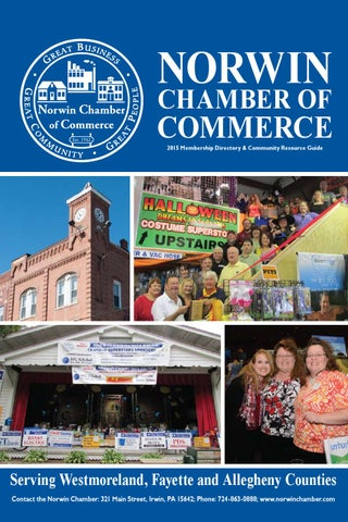 Ncc 2015 Directory Web By Norwin Chamber Of Commerce