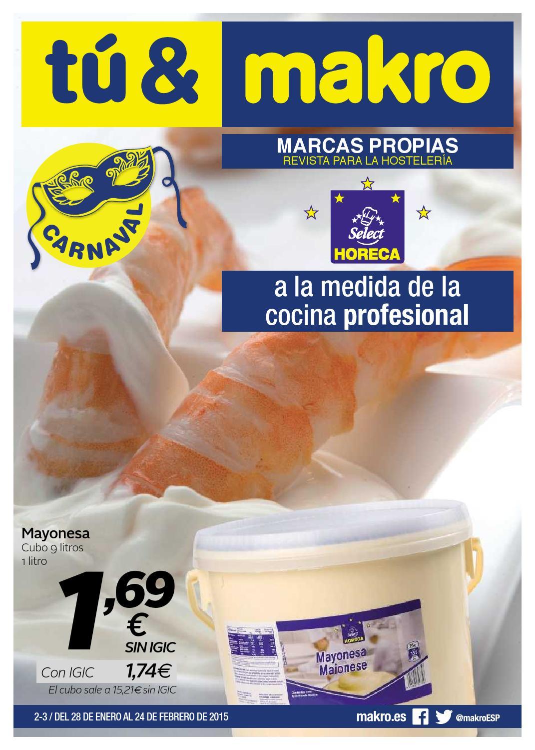 Makro espana ofertas marcas propias canarias by - Ofertas canarias enero ...