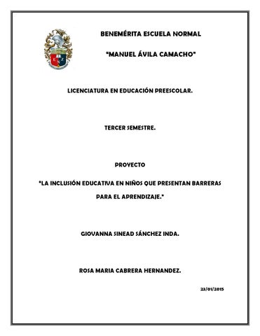 gua para la educacin inclusiva by coral elizondo issuu
