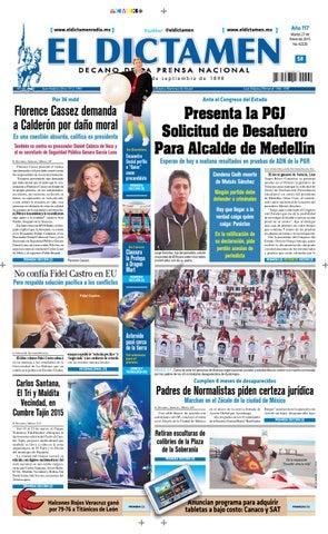 El Dictamen 27 de Enero de 2015 by El Dictamen - issuu a569951ce42