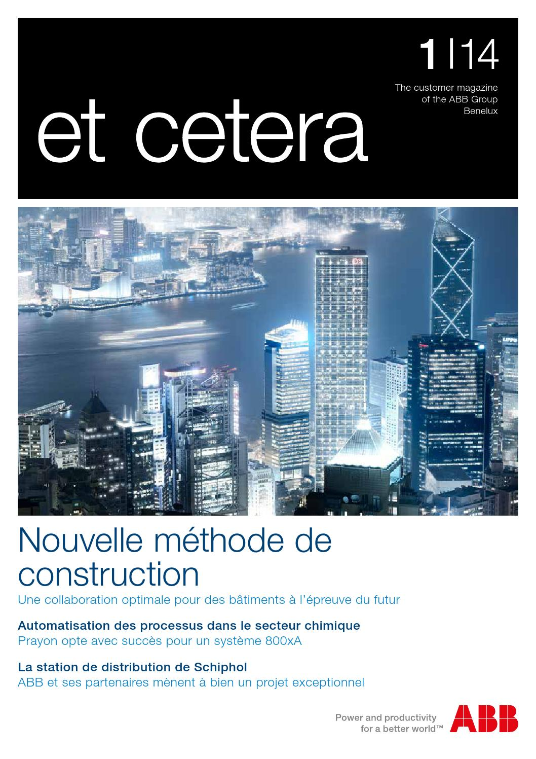 Et Cetera 012014 Fr By Abb Benelux Issuu