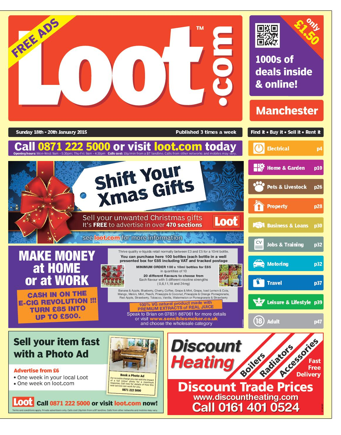 aa30cb3e122 Loot Manchester 18th January 2015 by Loot - issuu
