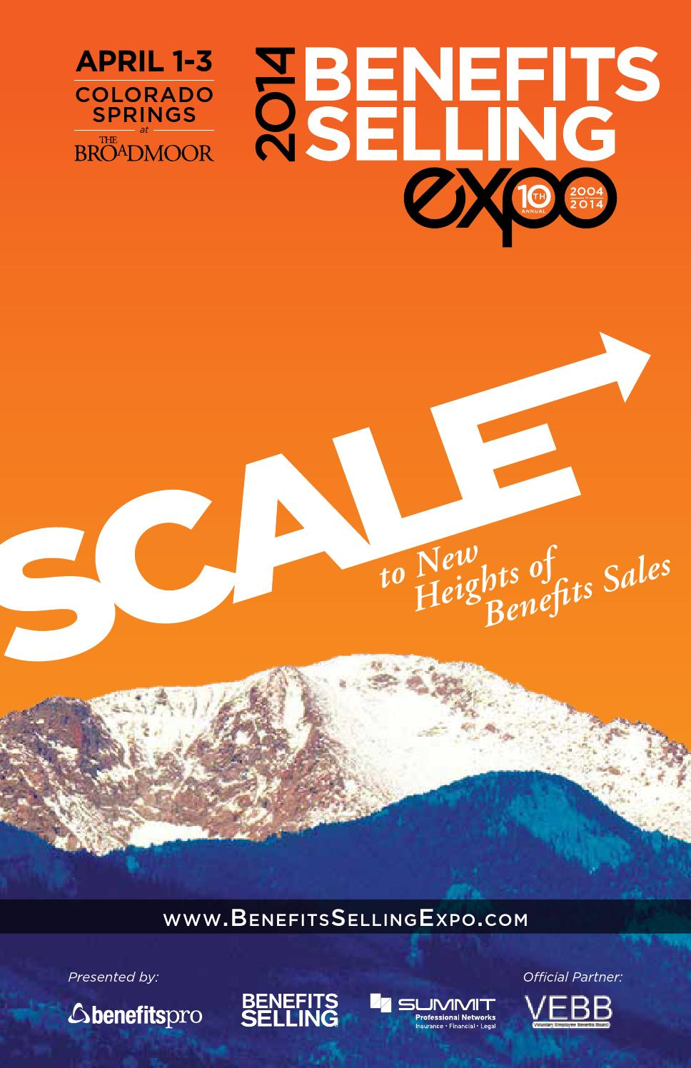 benefits selling expo 2014 by melissaosterweil - issuu