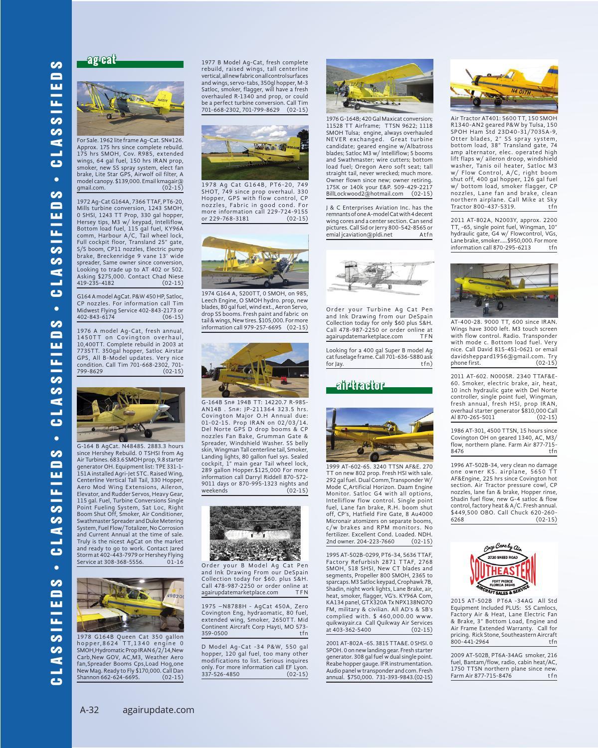 February 2015 - U S  Edition in English by AgAir Update - issuu