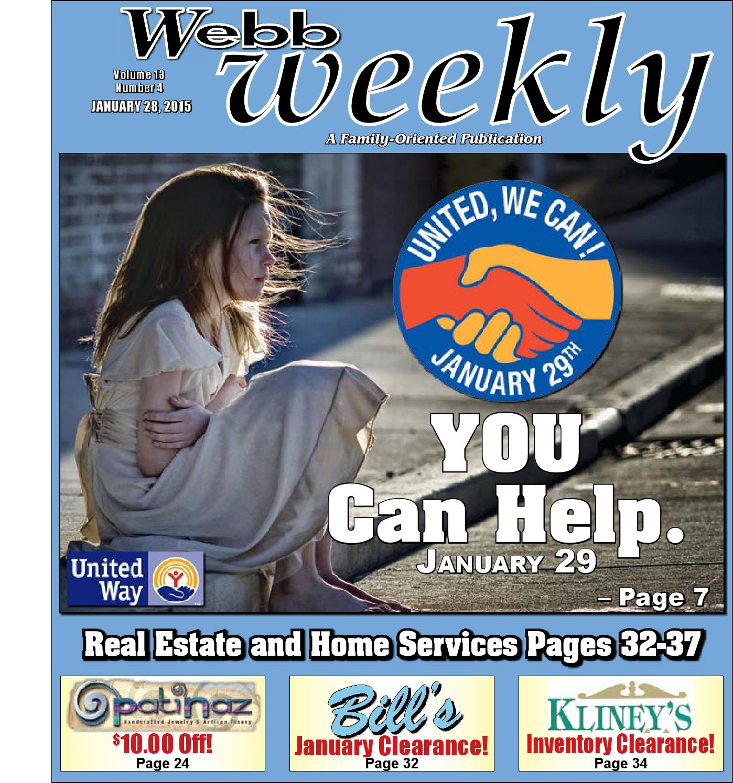 webb weekly january 28 2015 by webb weekly issuu