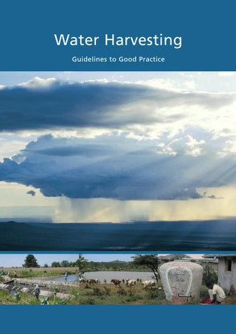 Water Harvesting Guidelines To Good Practice By Wocat