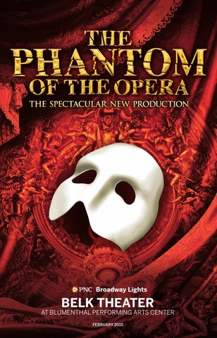 The Phantom Of The Opera Playbill By Blumenthal Performing