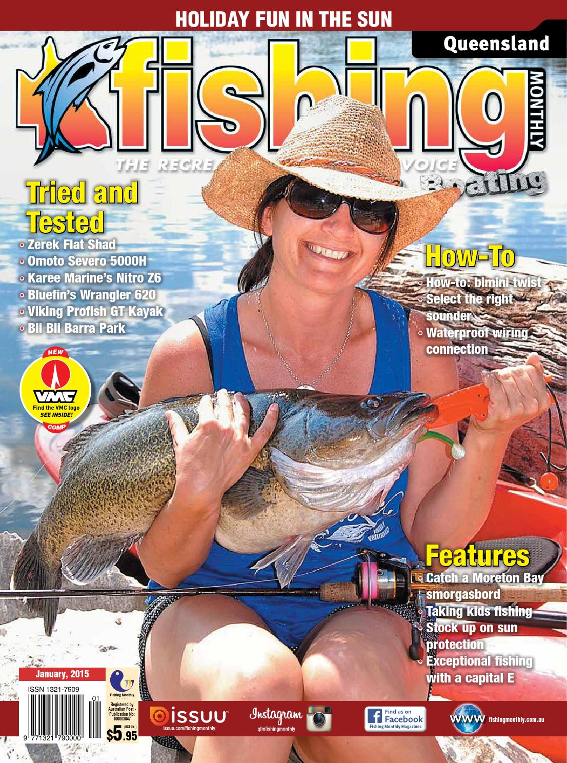 Queensland Fishing Monthly January 2015 By Issuu Dixon 4423 Wiring Diagram