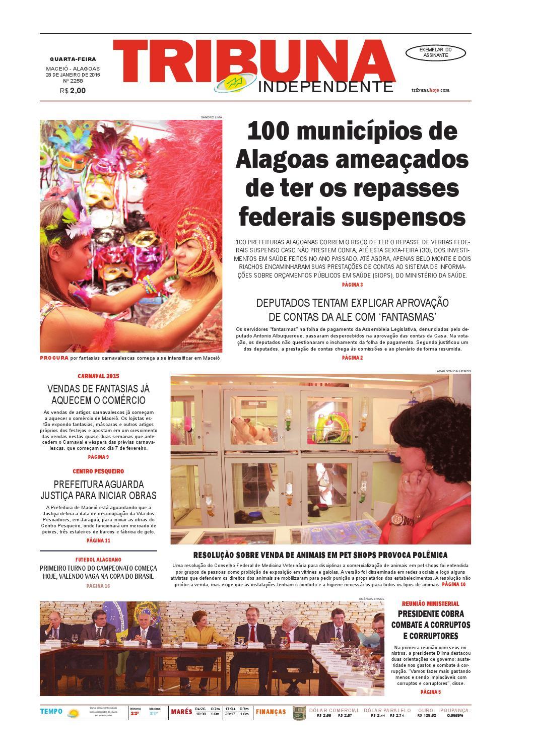 Edição número 2258 - 28 de janeiro de 2015 by Tribuna Hoje - issuu c266791fa2eeb