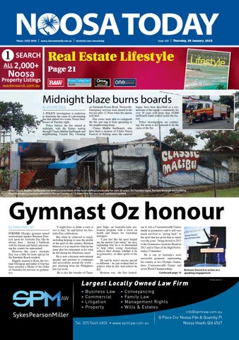 Noosa today 29th january 2015 by star news group issuu page 1 fandeluxe Gallery