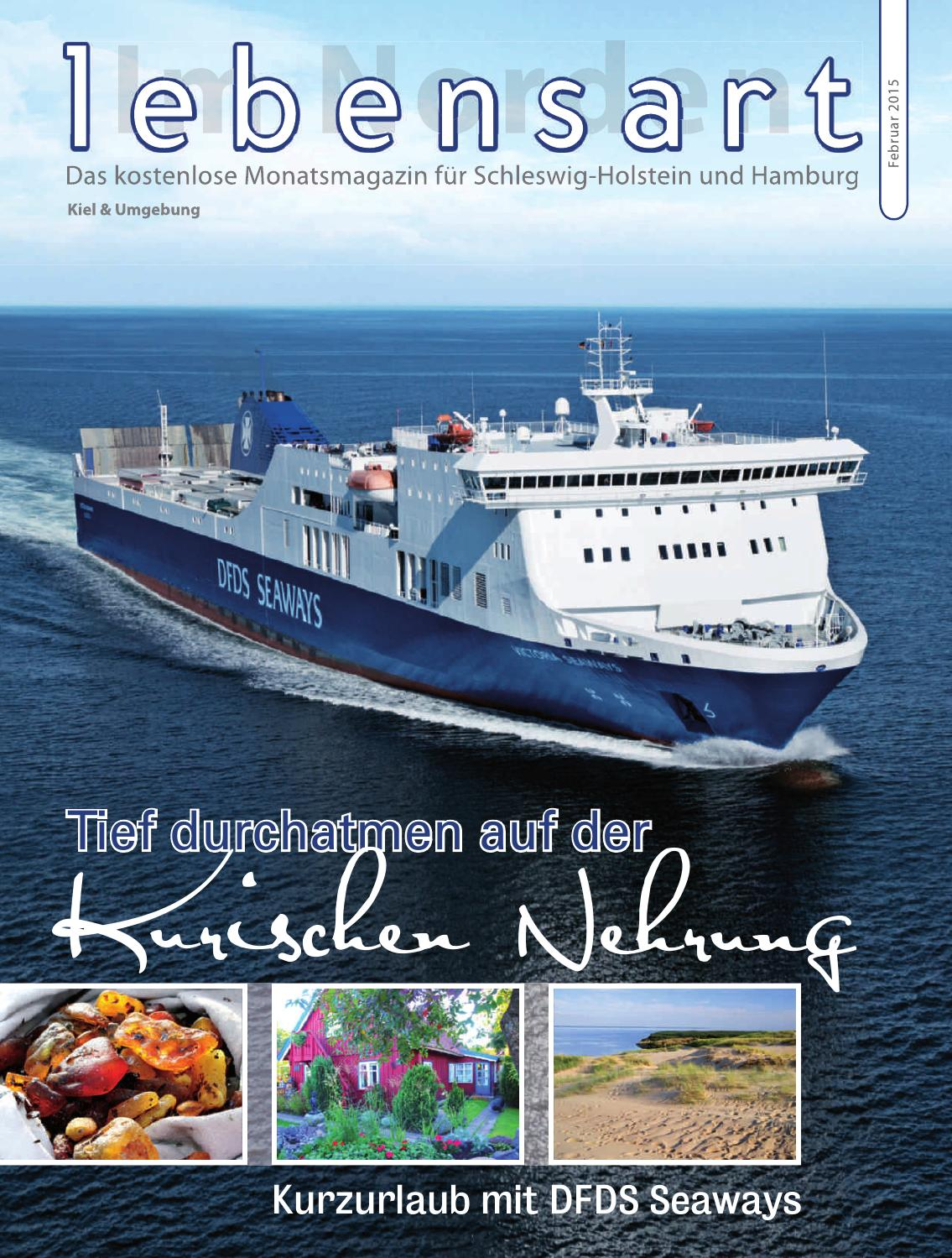 Lebensart Im Norden Kiel Februar 2015 By Verlagskontor Schleswig