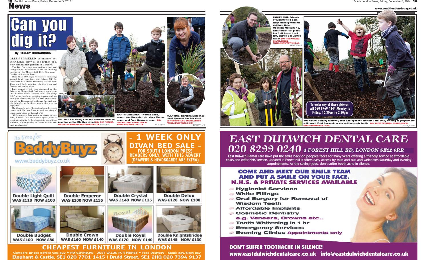 South London Press: Catford Community Garden Project by Hayley