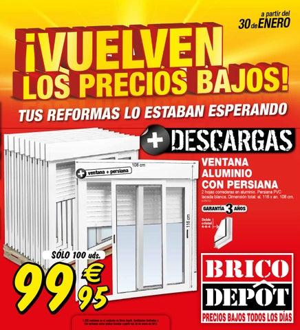 Cat logo febrero sevilla norte by losdescuentos issuu for Precio ventana pvc con persiana