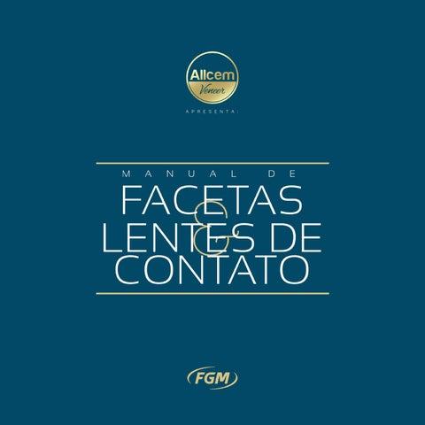 6c6b220cca Manual de facetas e lentes de contato by FGM Produtos Odontológicos ...