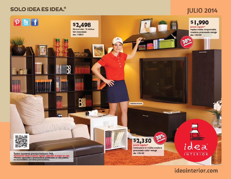 Idea interior folleto julio 2014 by idea interior issuu for Idea interior