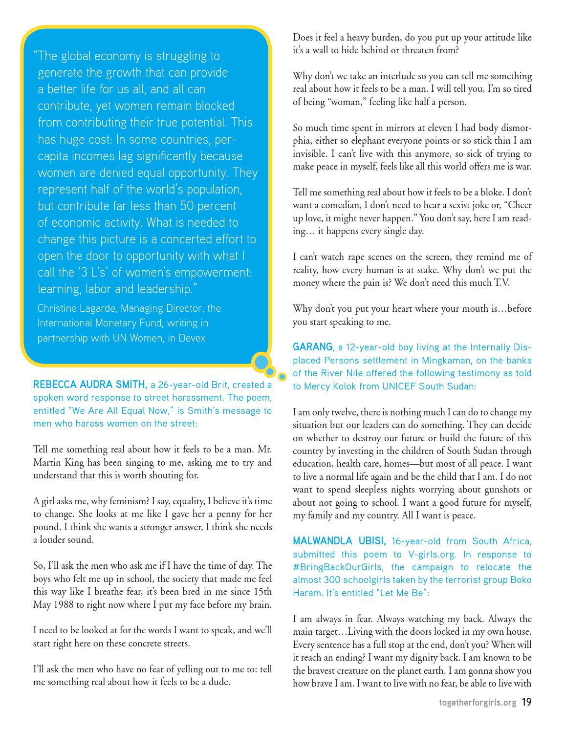 Safe issue 2 by Together for Girls - issuu