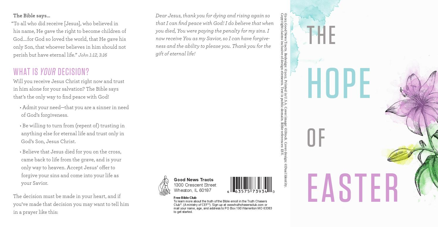 The hope of easter by crossway issuu negle Image collections