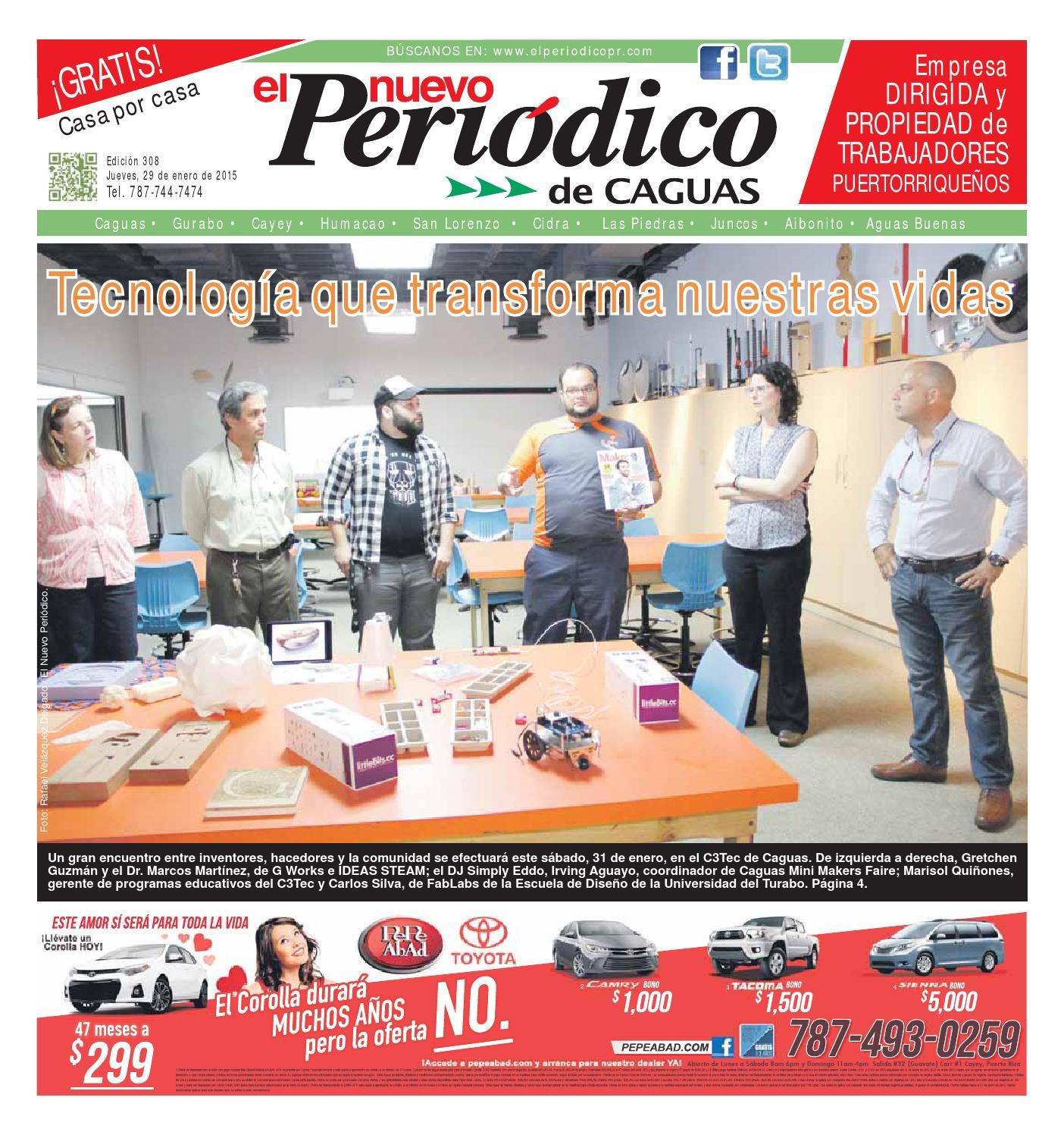 El Nuevo Peri³dico 308 by El Nuevo Periodico de Caguas issuu