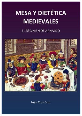 Mesa Y Dietética Medievales By Juan Cruz Cruz Issuu