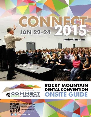 2015 rmdc programonsite guide by metro denver dental society issuu connect jan 22 24 2015 rmdconline rocky mountain dental convention malvernweather Gallery